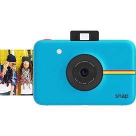Cámara digital instantánea Polaroid Snap CUERPO (azul)