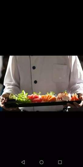 Restaurante solicita chef de Sushi, contratación inmediata, prestaciones sociales, buen ambiente laboral.
