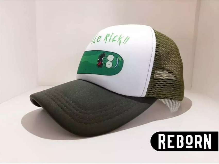 Gorra Trucker Pickle Rick and Morty 0