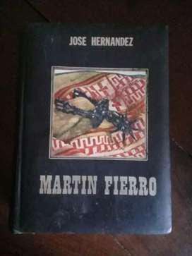 Vendo libro Martín Fierro