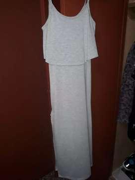 Vestido d modal elastisado