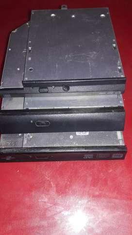 Grabadora de dvd para notebook