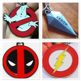 llavero Caza Fantasmas llavero Deadpool llavero Flash Arrow Flecha Verde