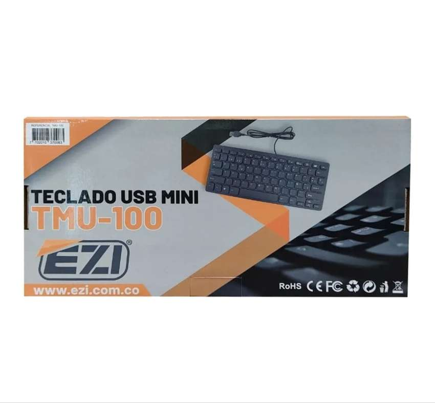 Teclado USB mini TMU-100 EZI