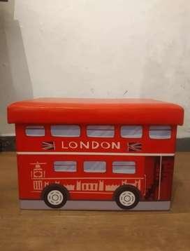 Puff Desarmable Autobus Baulera London