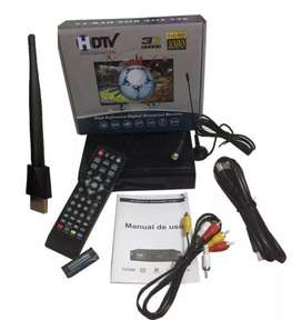 Decodificador Tdt Con Wifi Receptor Tv Digital T2 Antena