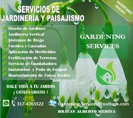 Servicios de Jardinería y Paisajismo