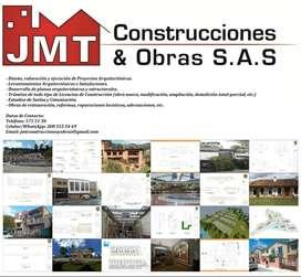 JMT CONSTRUCCIONES & OBRAS SAS - EMPRESA CONSTRUCTORA