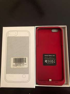 Cargador tipo carcasa de Iphone