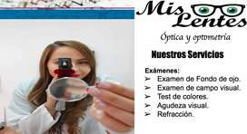 Pasante de optometría para óptica en Sangolquí horario de mañana