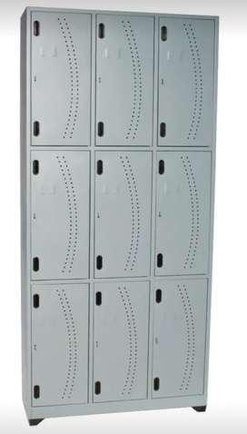 Lockers de 8 puestos