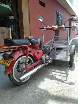 Se Fabrican Triciclos con Moto O Bici