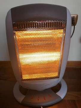 Estufa electrica con temporizador