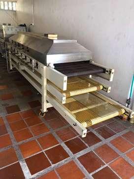 Maquinas industriales para fábrica de arepas