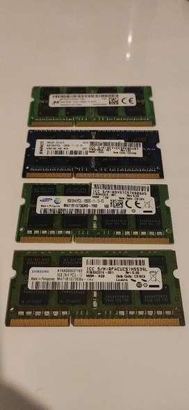 Memoria RAM 8GB 2Rx8 PC3L - 12800S
