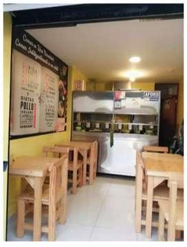 Traspaso Restaurante Delivery En Los Olivos