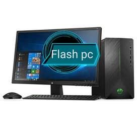 Oferta Computadores Intel Core 2 Duo con monitor 17 factura y garantía