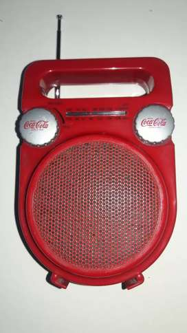 RADIO COCA COLA PORTATIL AM/FM COLECCION