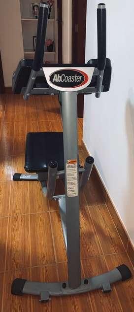 Máquina de abdominales Ab Coster