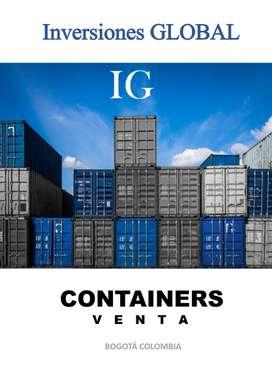 containers, contenedores, bodegas, container oficinas, containers de 20 y 40 pies,  High Cuba, nuevos y usados