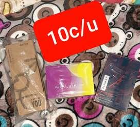 Perfumes, colonias, desodorantes
