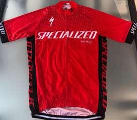 Uniforme ciclismo specialized rojo 2019