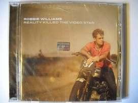 robbie williams reality killed video star cd sellado