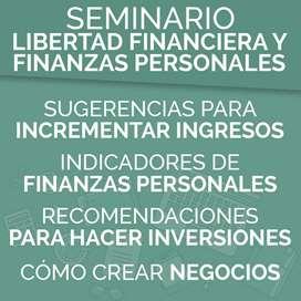 Seminario Libertad Financiera Y Finanzas Juan Diego Gómez