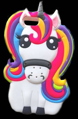 Funda Silicone Case iPhone 6 Unicornio