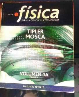 Física 5 Edición. Tipler Mosca. Volúmen 1a