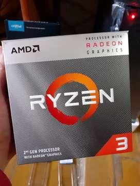 PC RYZEN 3 3200G 4.0GHZ 8GB RAM SSD240GB O 1 TB PC A ESTRENAR NUEVA GARANTIA