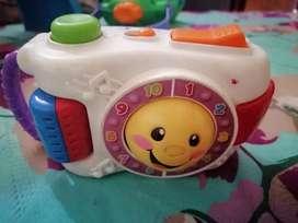 Cámara juguete interactivo