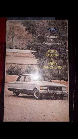 Manual ford falcon año 1979