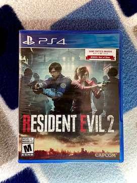 PS4 Resident Evil 2 - Nuevo y Sellado $45