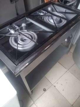 Vendo estufa de 2puestos industrial