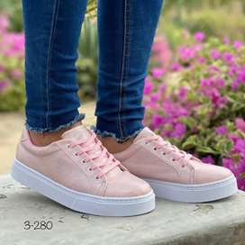 Zapato Tennis Deportivo Para Dama