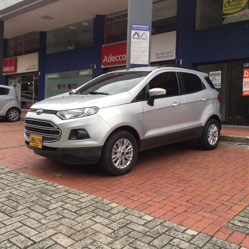 Ford Ecosport 2017 Automatica 0