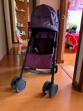 Coche bebesit kronos color morado