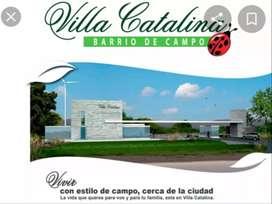 Vendo Terreno en Barrio Privado Villa Catalina
