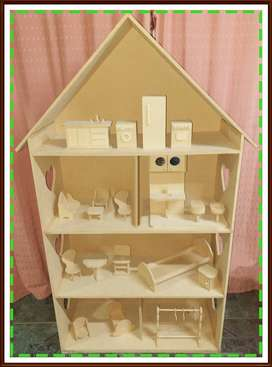 Casita Barbie 1,35mts.