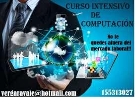 CURSO INTENSIVO DE COMPUTACIÓN