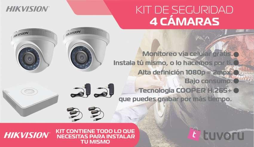 KIT de 2 camaras de seguridad HD 720p 0