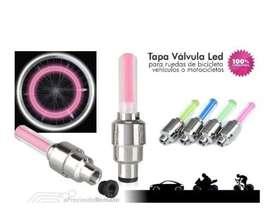 Se venden valvulas con luces  para cualquier tipo de vehiculo