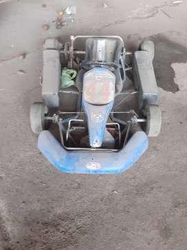 Karting con motor a colocar