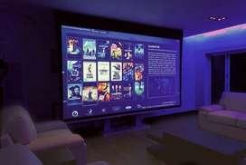 Alquiler proyector eventos, fiestas, noches de cine
