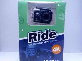Cámara deportiva PCbox Ride 4k