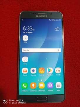Vendo Samsung Note 5 exelente eatado