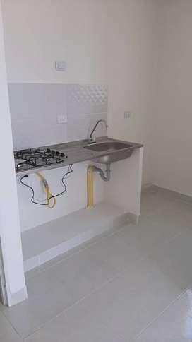 Meson estufa encendido electrico y lavaplatos