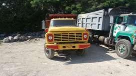 Volqueta Ford Piragua Ranger 67, motor Caterpillar 320D