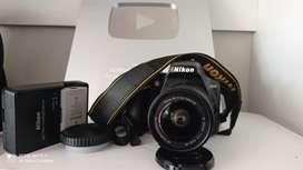 CAMARA PROFESIONAL NIKON D3500